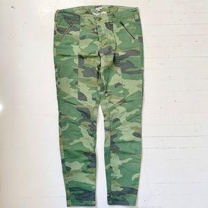 J. Crew Camouflage Skinny Stretch Jeans